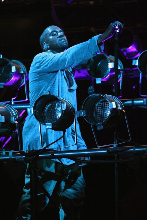Rapper Kanye West performs during the 2013 Governor's Ball Music Festival at Randall's Island on June 9, 2013 in New York City.