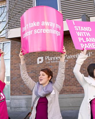 Planned Parenthood supporters making some reasonable demands.