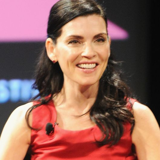 The New Yorker Festival 2015 - Julianna Margulies Talks With Joshua Rothman