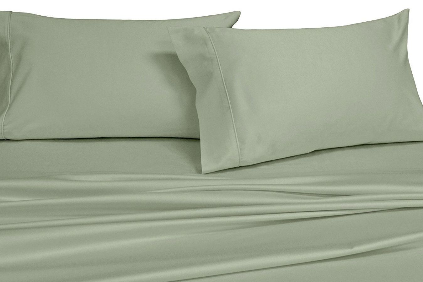 Royal S Solid Ivory 1000 Thread Count Sheet Set
