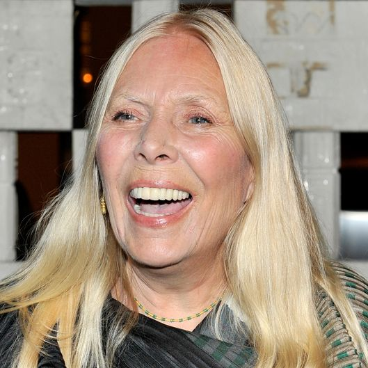 WESTWOOD, CA - OCTOBER 11:  Honoree Joni Mitchell attends the Hammer Museum's 12th annual Gala in the Garden with generous support from Bottega Veneta at the Hammer Museum on October 11, 2014 in Westwood, California.  (Photo by Donato Sardella/Getty Images)