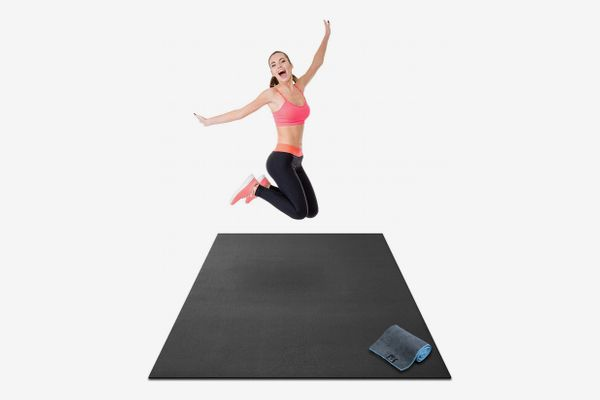 Gorilla Mats Premium Large Exercise Mat, (6 Feet by 4 Feet)