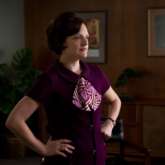 Peggy in Mad Men.