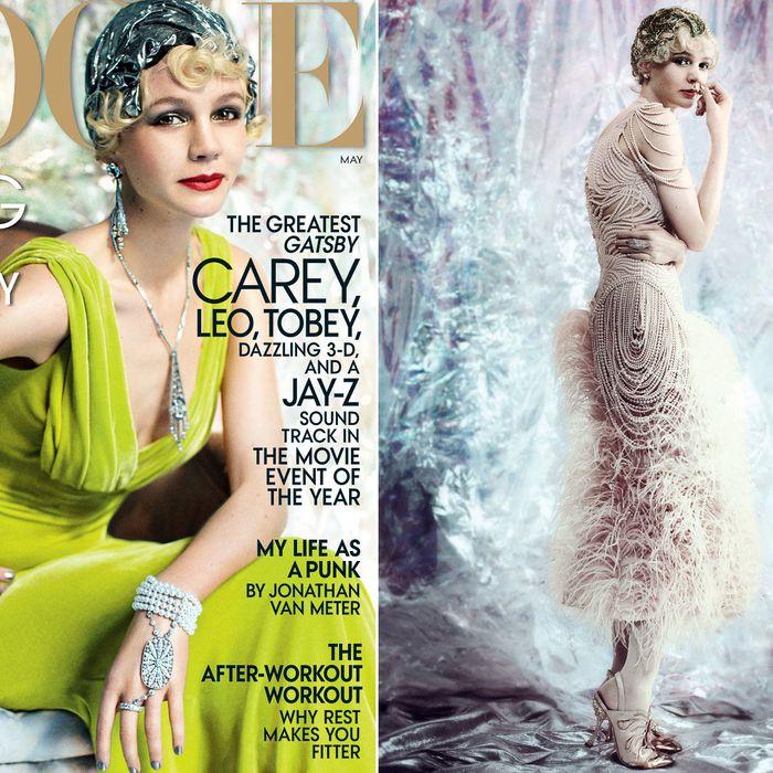 Carey Mulligan for Vogue.