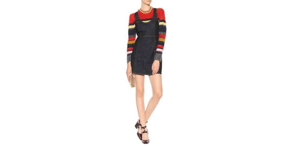 Alexa Chung Denim Dress