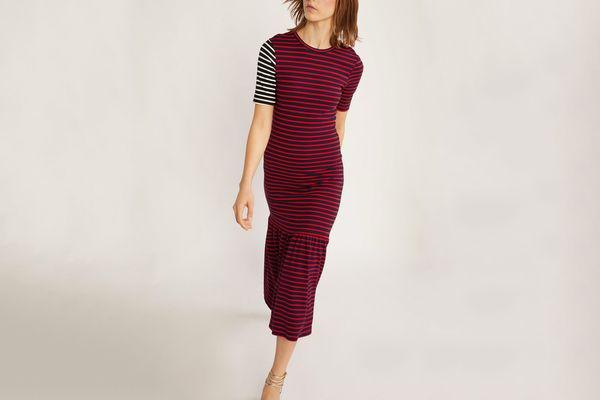 Cynthia Rowley Hang Ten Striped Dress