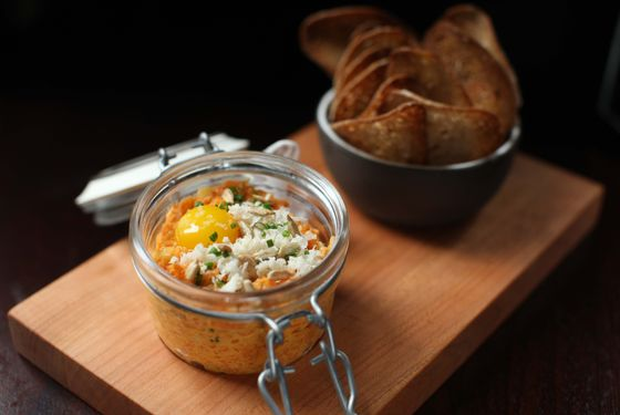 The NoMad Bar's carrot tartare.