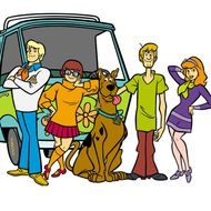 Television cartoon 'Scooby Doo'.                                                                 For further information contact the Press Office:Greta Sani (0171) 478 1200Robert Willington (171) 478 1233TM Hanna-Barbera Productions, Inc.  2000 TBS, Inc.All Rights Reserved. A Time Warner Company.
