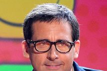 LOS ANGELES, CA - MARCH 23:  Actors Kristen Wiig and Steve Carell speak onstage during Nickelodeon's 26th Annual Kids' Choice Awards at USC Galen Center on March 23, 2013 in Los Angeles, California.  (Photo by Kevork Djansezian/Getty Images for KCA)