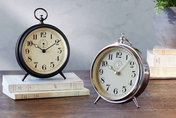 Pottery Barn Charleston Vintage Alarm Clock
