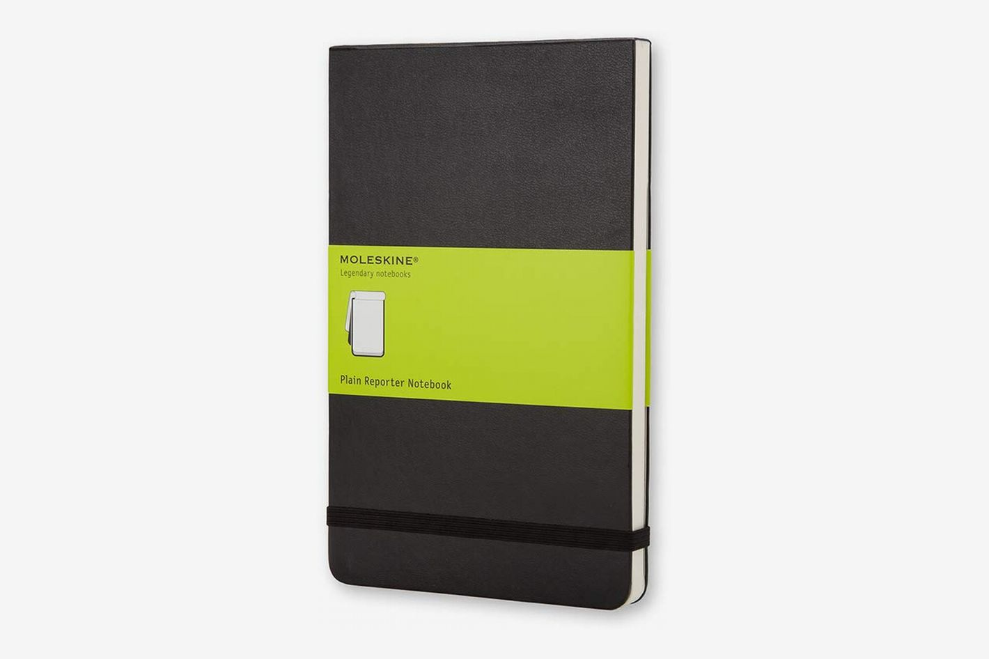 Moleskine Classic Hard Cover Notebook Large Reporter Style