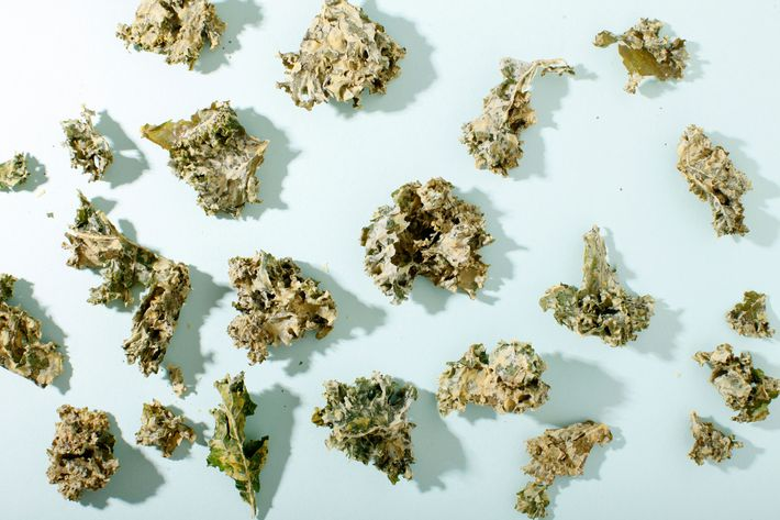 Kale chips, for when you're too lazy to make them at home.