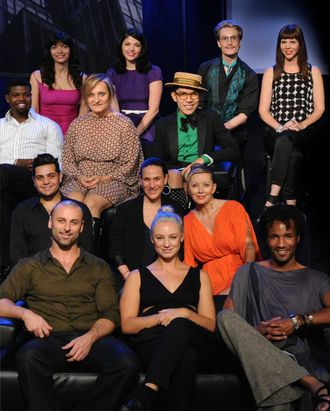 Project Runway's All Star cast.