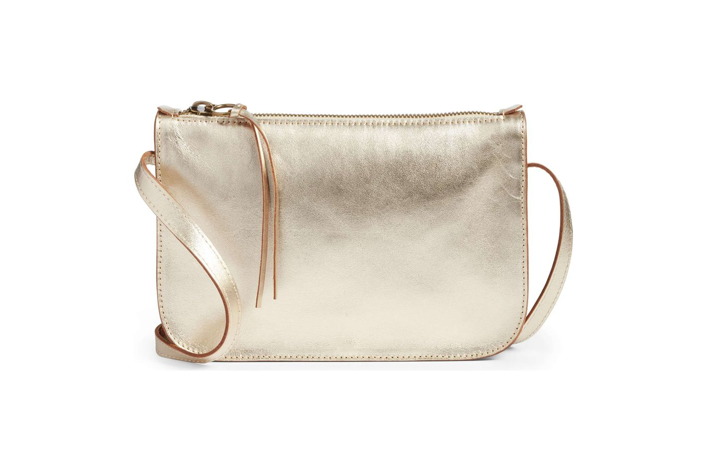 Madewell The Simple Crossbody Bag in Metallic