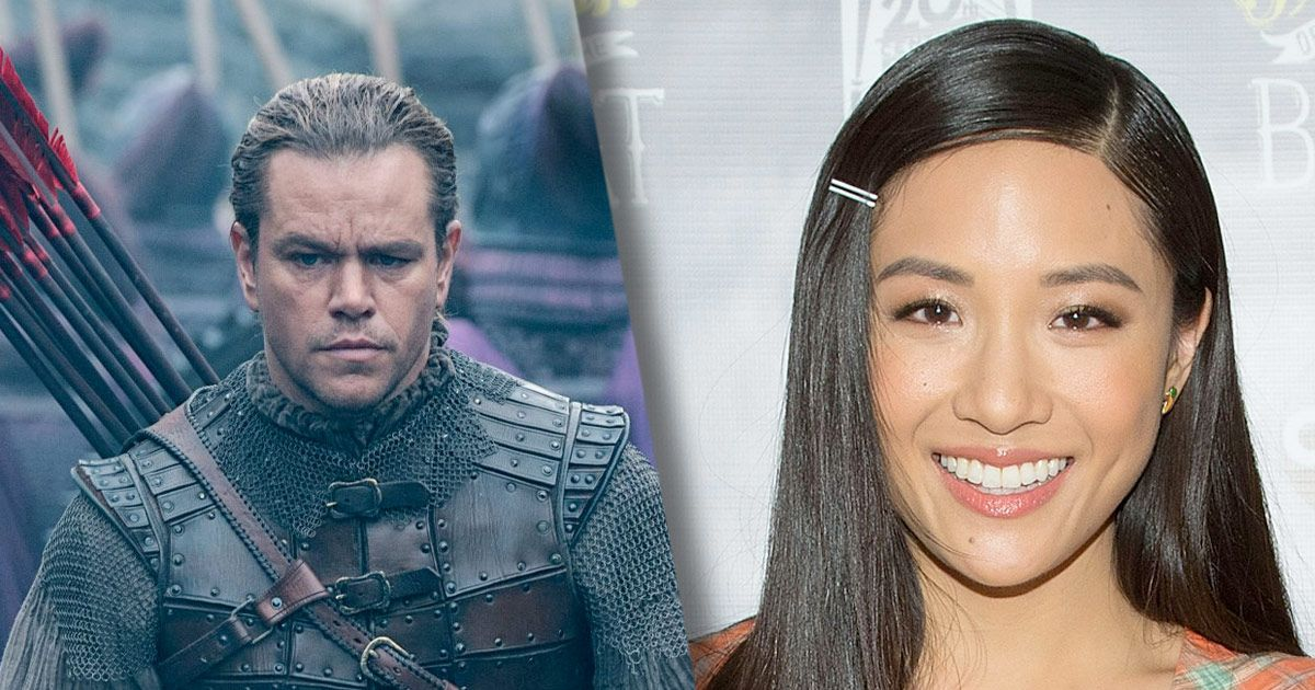 Constance Wu Slams Matt Damon's Great Wall Film for Perpetuating a 'Racist Myth'
