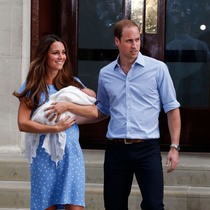Kate, George, and William.