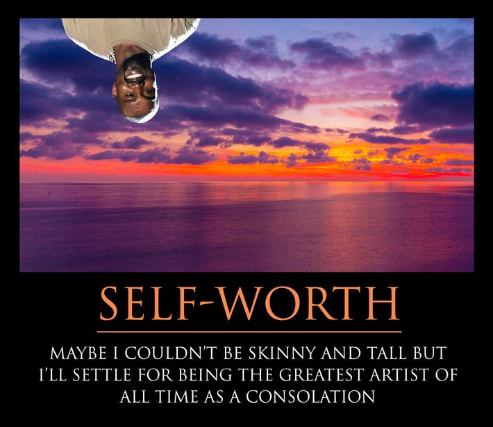 celebrate yourself and your cool pants with our kanye motivational posters