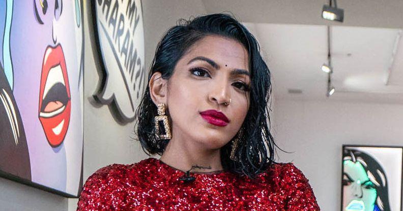 The Artist Blending Pop Art and Indian Soap Operas