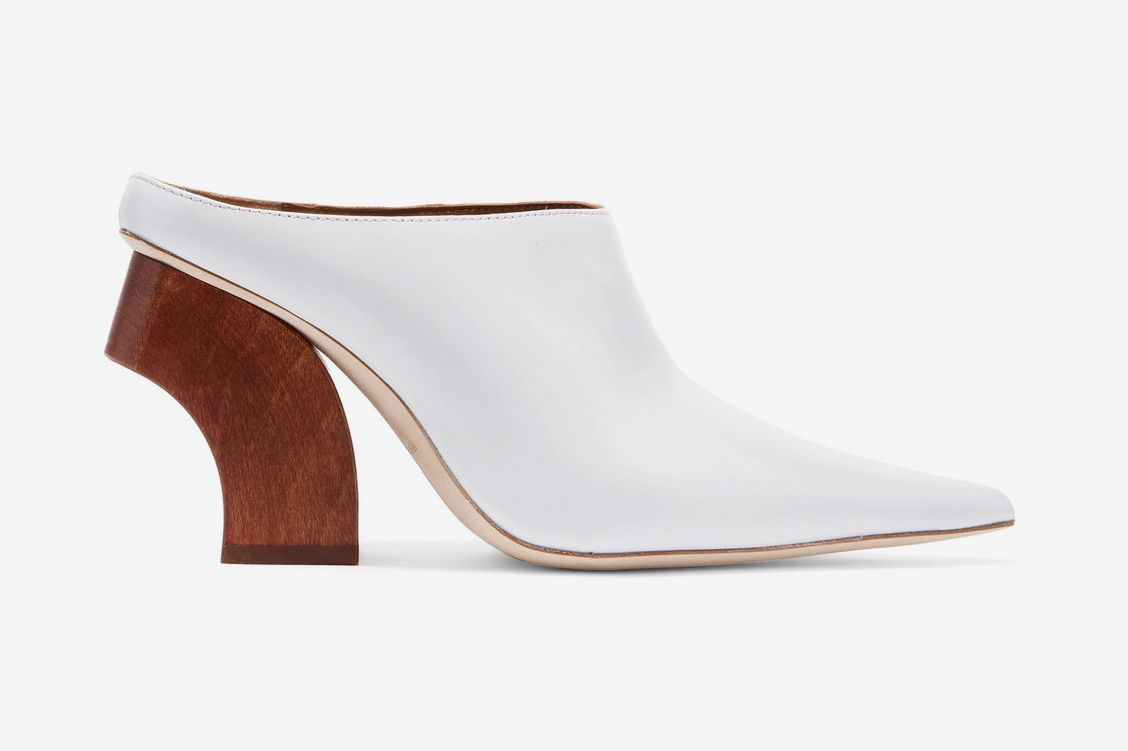 Rejina Pyo Yasmin leather mules