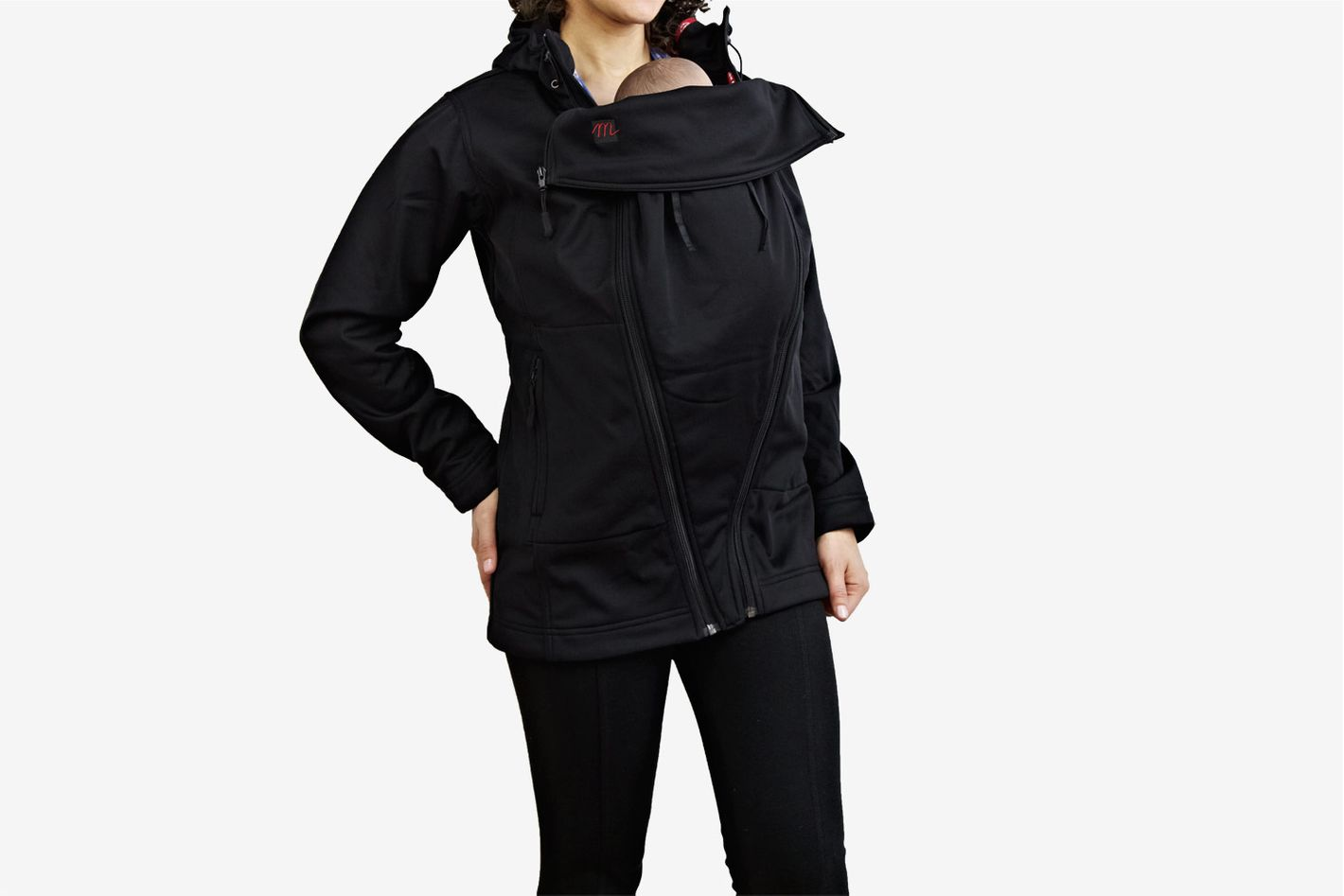 The M Coat Maternity and Babywearing Rain Shell