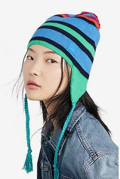 Acne Studios Multi Stripe Face Hat