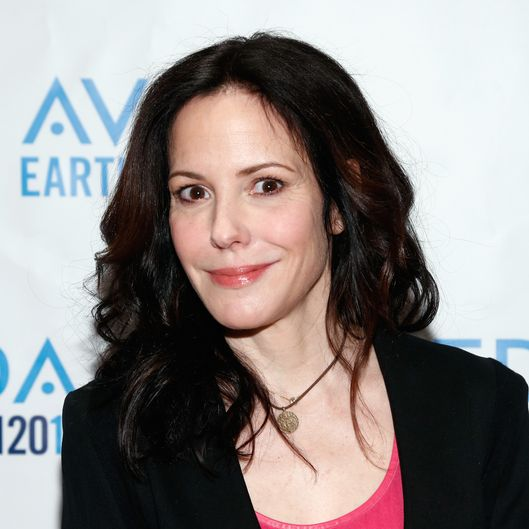 NEW YORK, NY - APRIL 02:  Mary-Louise Parker visits the Aveda Institute on Spring Street to show support for Aveda's Earth Month 2014 clean water initiatives on April 2, 2014 in New York City.  (Photo by Brian Ach/Getty Images for AVEDA)