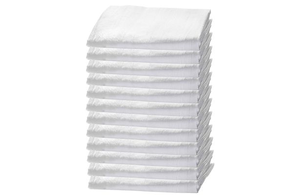 Flour Sack Towels — 12 Pack, White