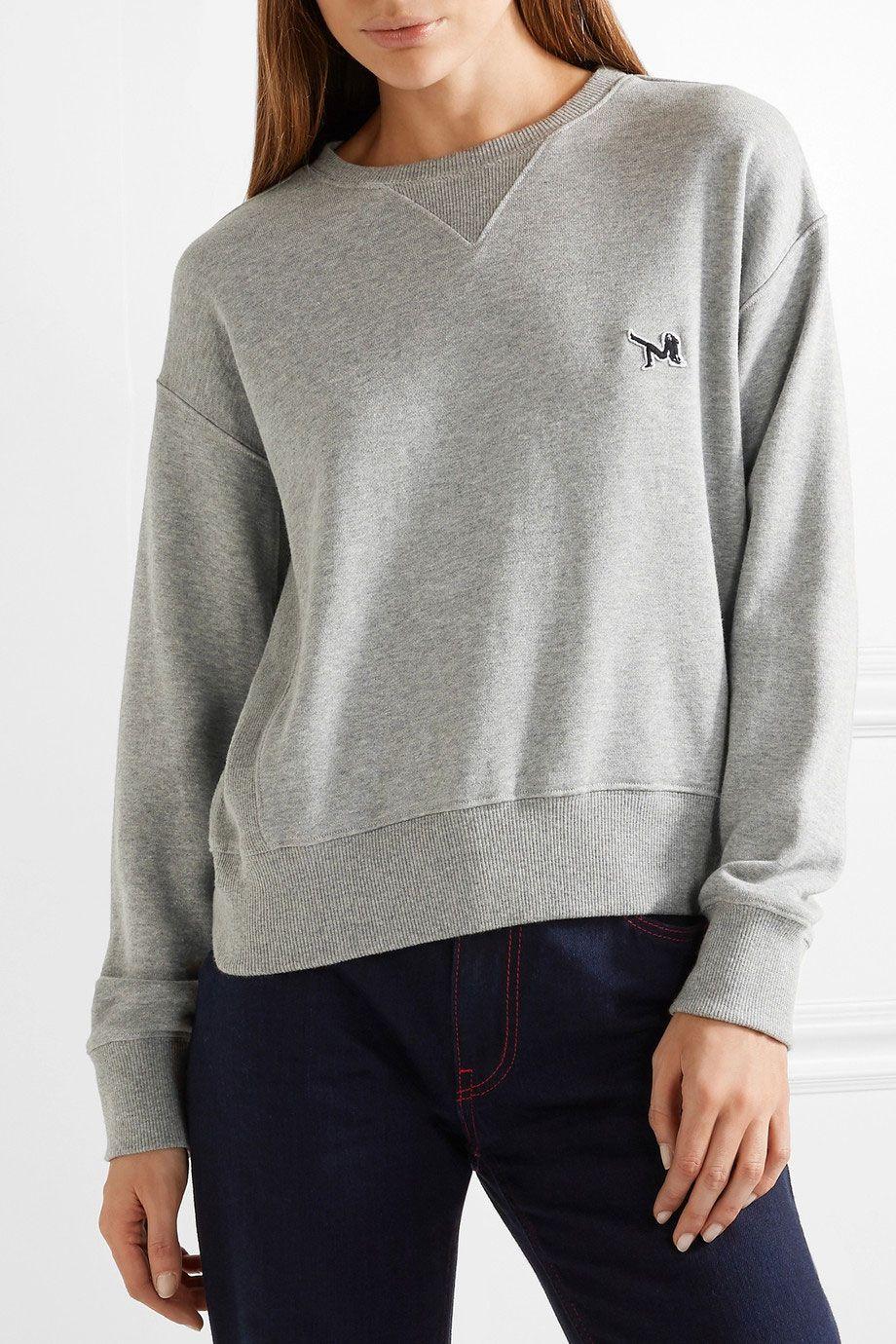 Calvin Klein 205W39NYC Appliquéd Sweatshirt