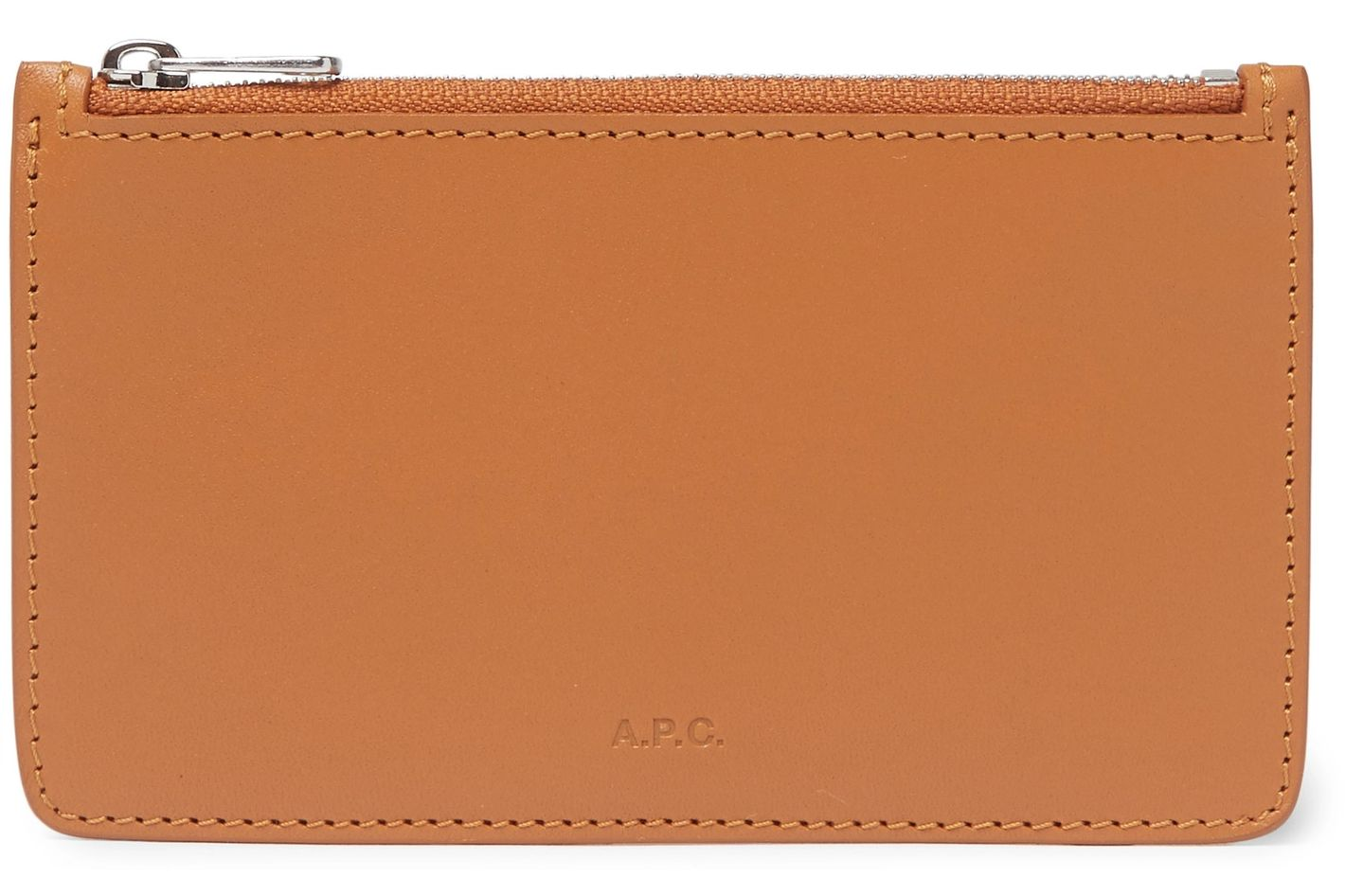 A.P.C. Walter Leather Zipped Cardholder