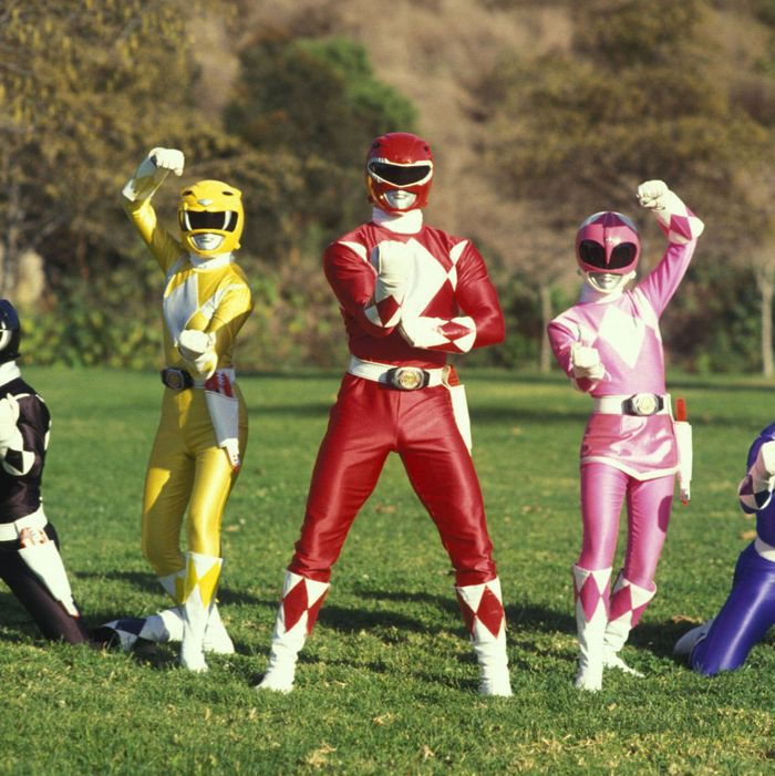 mighty morphin power ranges
