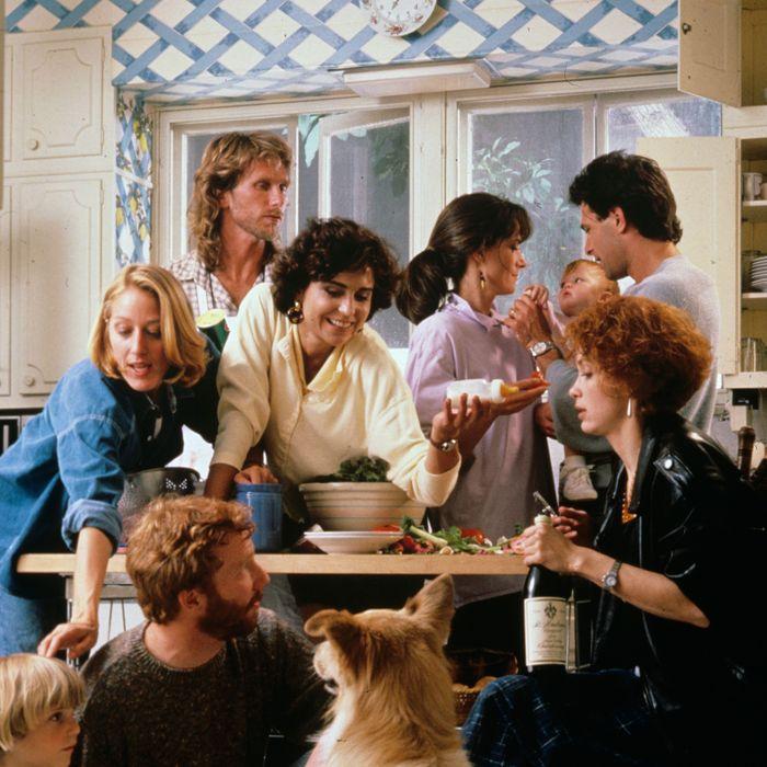 thirtysomething - AD GALLERY 1987 Patricia Wettig, Timothy Busfield, Peter Horton, Polly Draper, Mel Harris, Melanie Mayron, Ken Olin