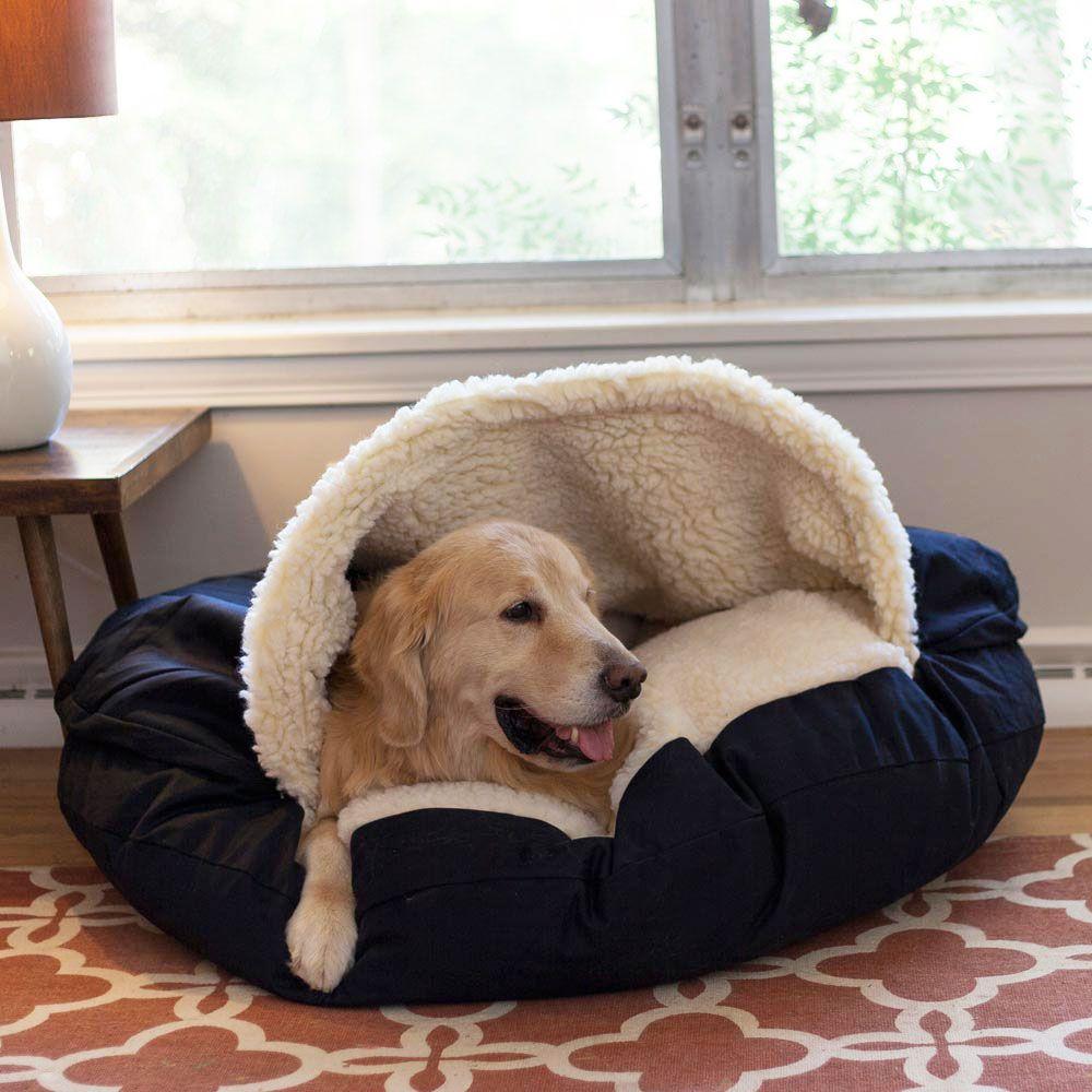 Snoozer Orthopedic Luxury Microsuede Cozy Cave Pet Bed