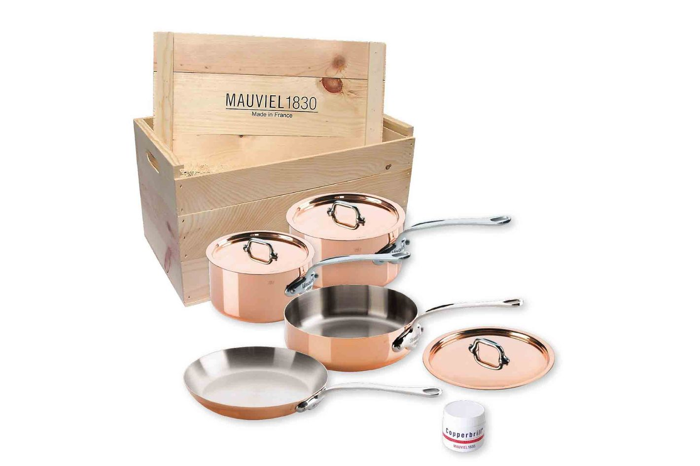 Mauviel Copper Pans