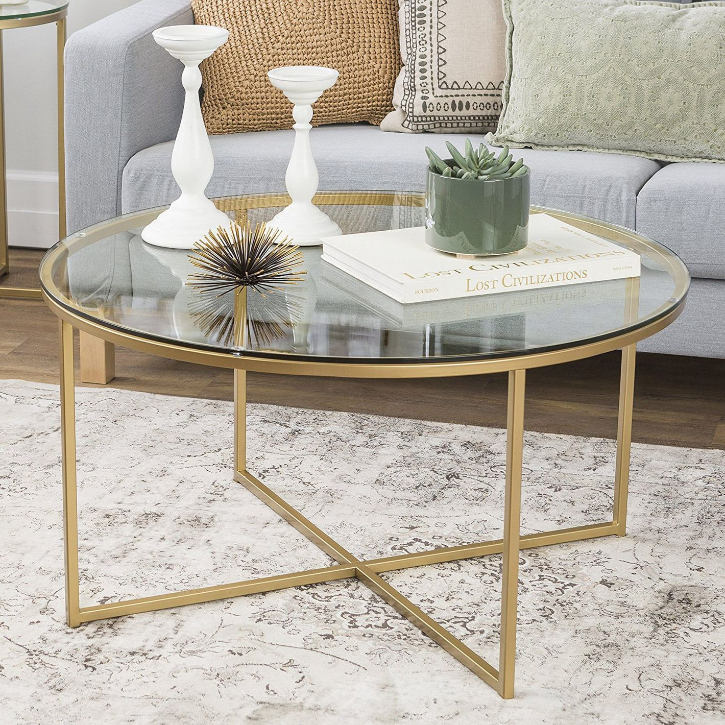 Glass Coffee Tables ~ The best glass coffee tables under