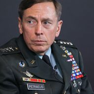Gen. David Petraeus, commander of U.S. and NATO forces in Afghanistan, gives his assessment of ongoing operations there during a program hosted by the National Journal and The Newseum, Friday, March 18, 2011, in Washington. (AP Photo)