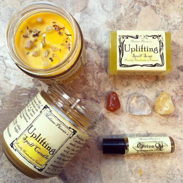 The Madame Pheonix Uplifting Aromatherapy Candle