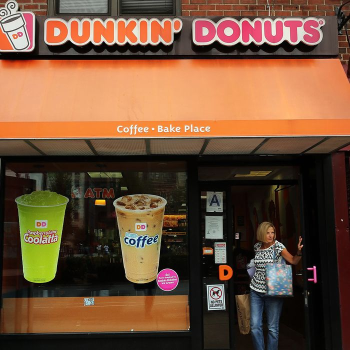 It's getting harder to run away from Dunkin'.