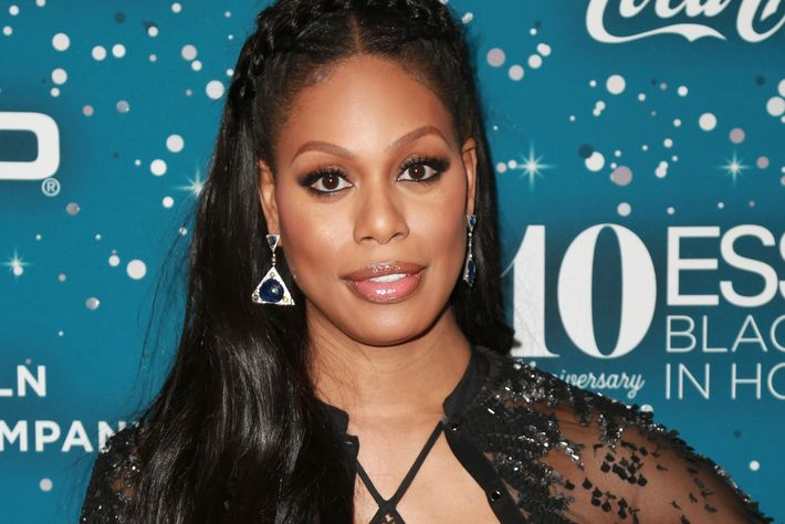 Actress Laverne Cox turns talking head on Trump's bathroom order