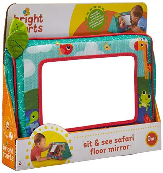 Bright Starts Sit and See Floor Mirror