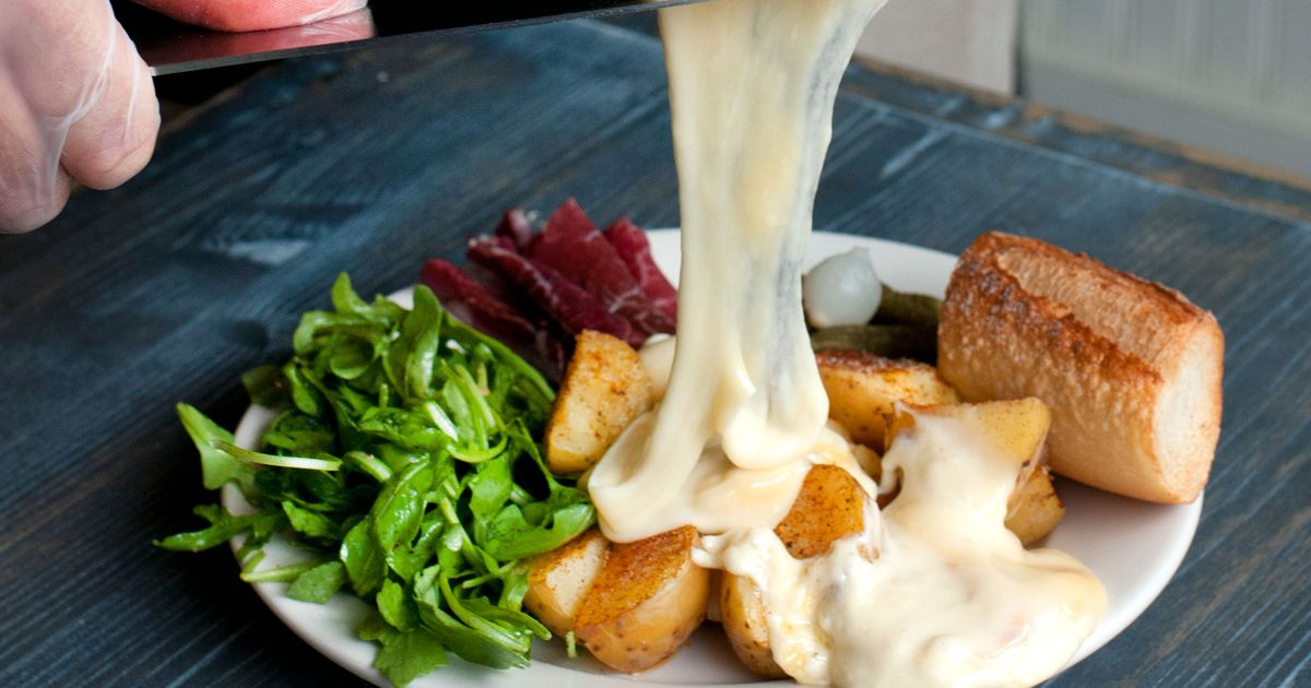 Raclette in the East Village Takes Melted Cheese to the Next Level | {Raclette 55}