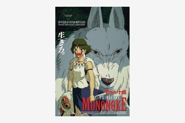 Craftsmanship Poster Princess Mononoke Movie Posters