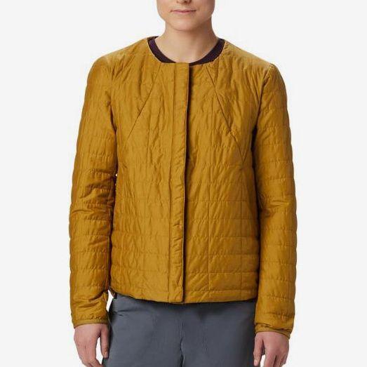 yellow mountain hardwear insulated jacket - strategist rei winter sale