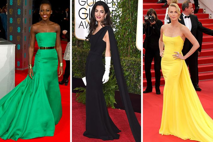 Lupita Nyong'o, Amal Clooney, and Charlize Theron.