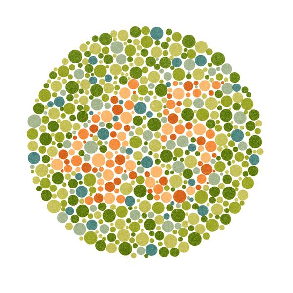 Mild Color Blindness Test Red Green Color Blind Dark