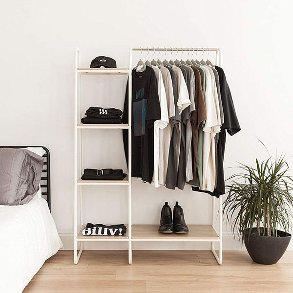 Movian Clothes Rail and Shelves