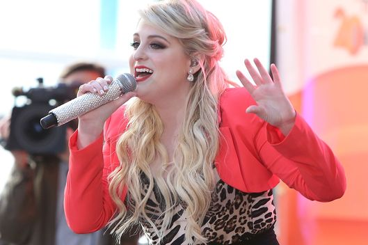 "Meghan Trainor Performs On NBC's ""Today"""