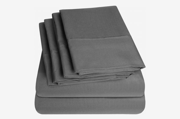 Sweet Home Collection Bed 6 Piece 1500 Thread Count Deep Pocket Sheet Set