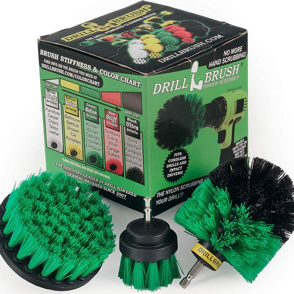 Drillbrush Bathroom-Surfaces Cleaning Kit