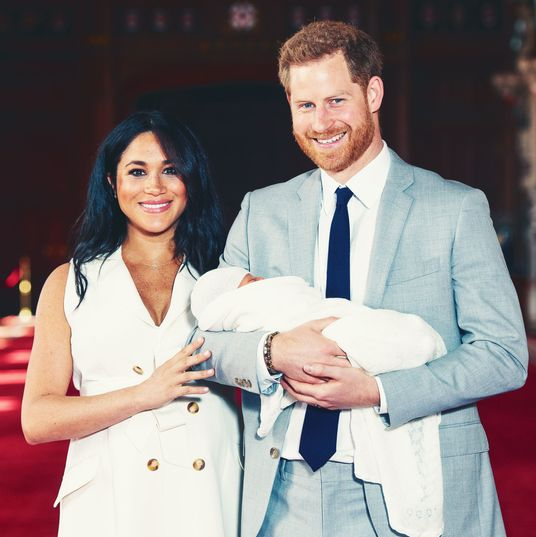 Meghan Markle, Prince Harry With Royal Baby Boy: Picture
