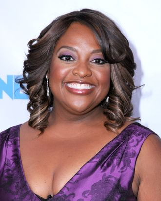 Sherri Shepherd, presumably somewhere between 'Back to you, Barbara' and 'Bubblin' Brown Sugar.'